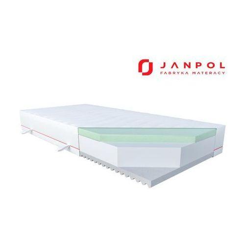 JANPOL PURE DREAM - materac piankowy, Rozmiar - 100x200, Pokrowiec - Tencel WYPRZEDAŻ, WYSYŁKA GRATIS (5906267400582)