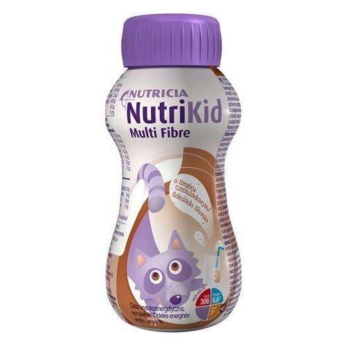 Nutricia polska Nutrikid multi fibre o smaku czekoladowym 200ml