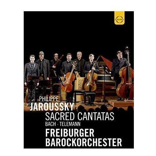 Jaroussky, philippe , freiburger barockorchester - euroarts - bach & telemann (dvd) marki Warner music