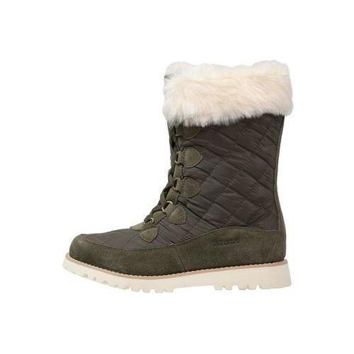 LAVRAS Śniegowce dark khaki, Aigle
