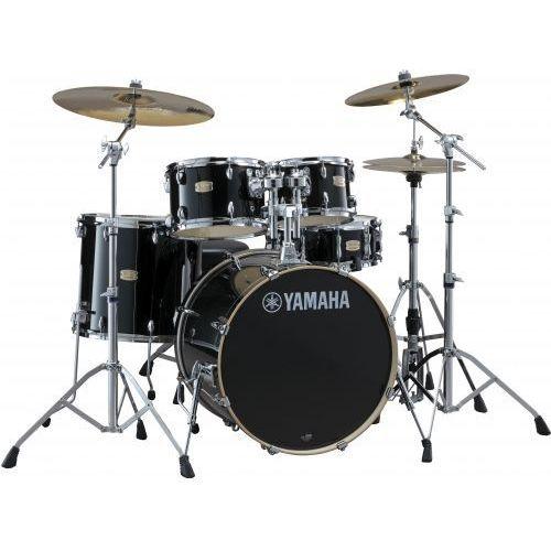 Yamaha stage custom birch fusion zestaw perkusyjny z hardwarem (kolor: raven black)