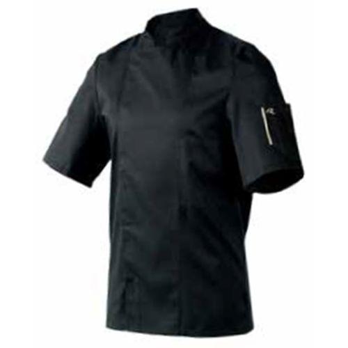 Kitel, krótki rękaw, rozmiar XL, czarny | ROBUR, Nero