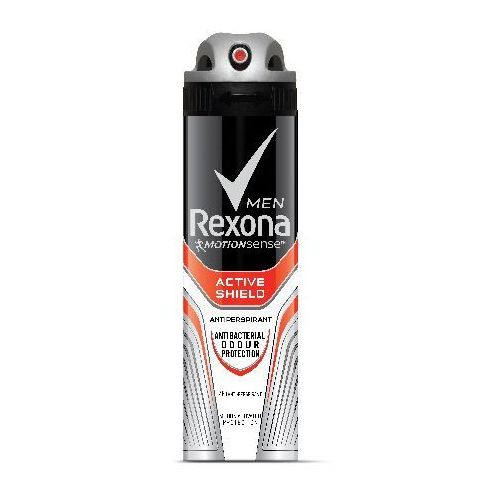 Rexona motion sense men dezodorant spray active shield 150ml - unilever od 24,99zł darmowa dostawa kiosk ruchu (8710908333835)