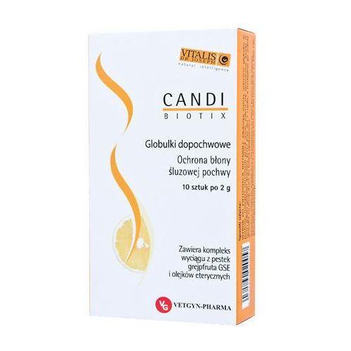 Vetgyn-pharma Candi biotix 2g x 10 globulek dopochwowych