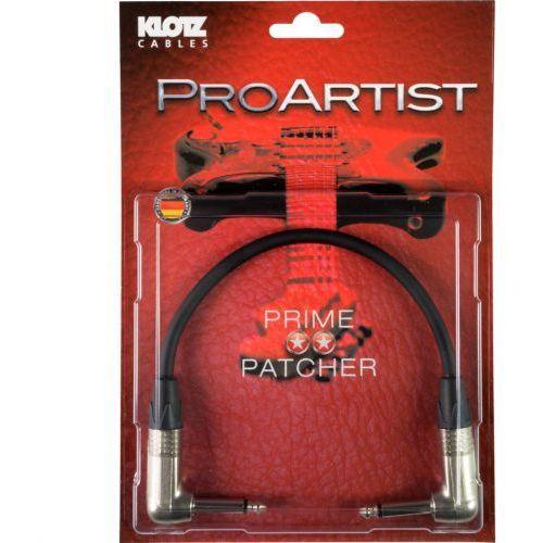 Klotz PRON003 RR Pro Artist kabel instrumentalny jack kątowy-jack kątowy 0,30m