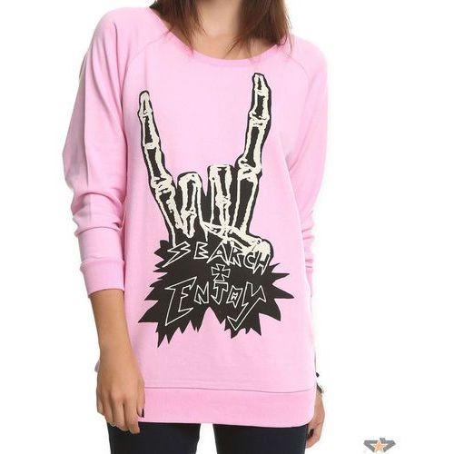 bluza kobiety IRON FIST - Szukaj And Enjoy - PINK ze sklepu StreetCore