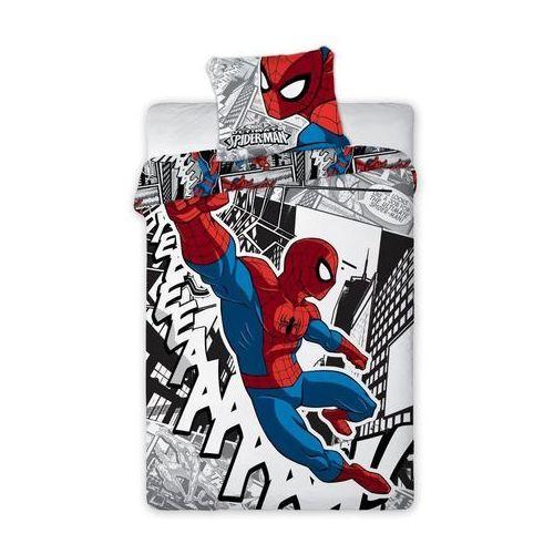 Dekoria  komplet pościeli spider man, poszwa 160x200cm, 1 poszewka 70x80cm