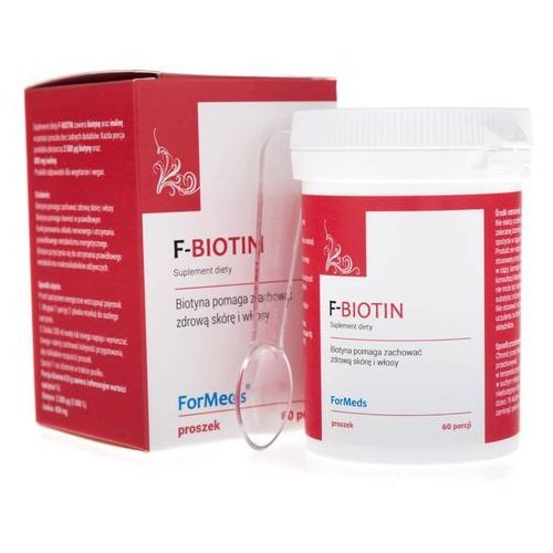 Proszek ForMeds F-BIOTIN Biotyna 48g proszek - suplement diety