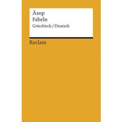 Fabeln, Griechisch-Deutsch (9783150182970)