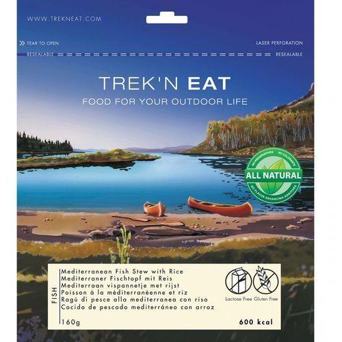 Śródziemnomorski gulasz rybny z ryżem 160g marki Trek'n eat