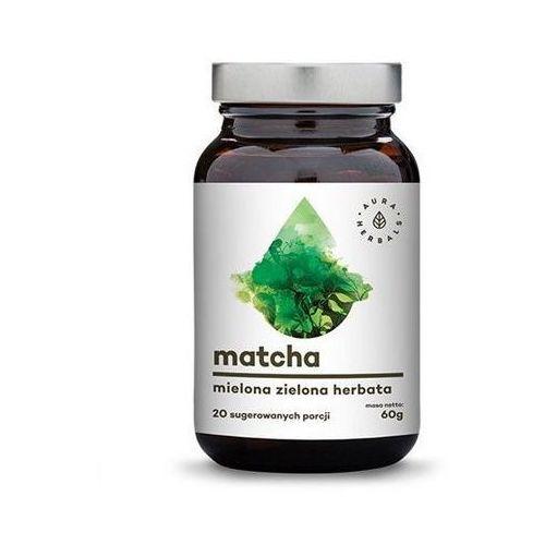 Matcha 100% zielona herbata w proszku 60g marki Aura herbals