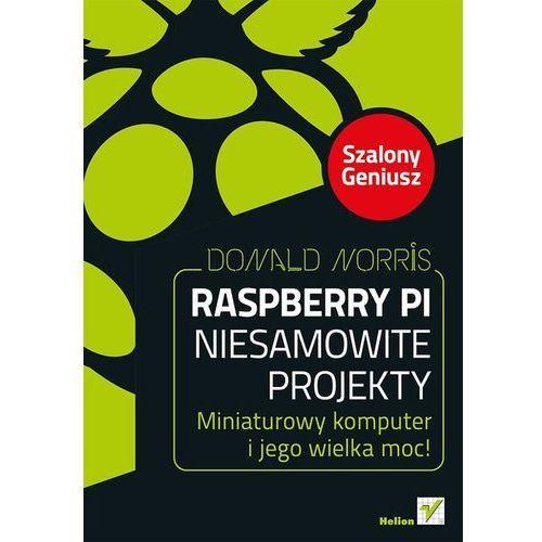 Raspberry Pi Niesamowite projekty Szalony Geniusz (216 str.)