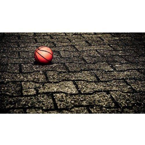 Wodoodporna Fototapeta Wysokiej Jakości (150x85cm) - Piłka kostka, Basketo z SPORT-TRADA