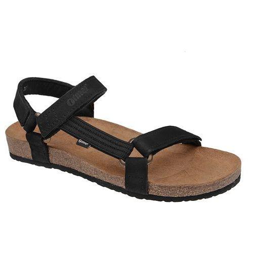 Sandały OTMĘT 405CP Czarne Jezuski BioForm Fussbett - Czarny   Beżowy