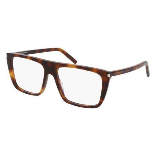 Okulary korekcyjne sl 155 002 marki Saint laurent