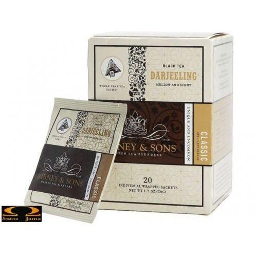 Herbata darjeeling, kartonik piramidki 20 szt. marki Harney & sons