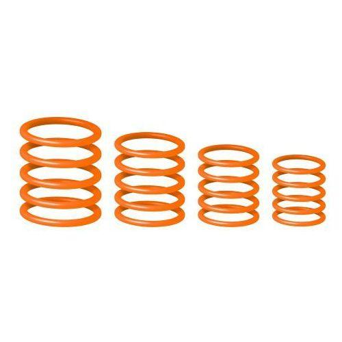 rp 5555 org 1 uniwersalny zestaw pierścieni gravity, jaskrawy pomarańczowy marki Gravity