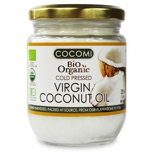 Cocomi (wody kokosowe, oleje kokosowe, śmietanki) Olej kokosowy virgin bio 225 ml - cocomi (4792038035029)