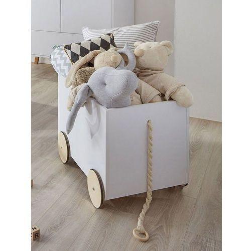 Skrzynia na zabawki na kółkach lotta marki Bellamy