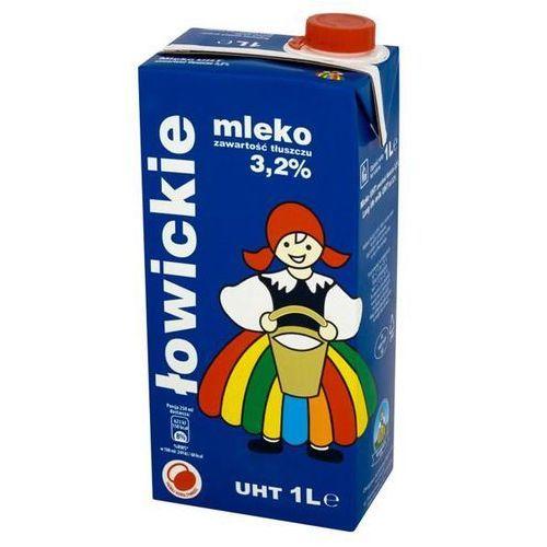 Mleko łowickie 1l. 3,2% op.12 marki Łowicz