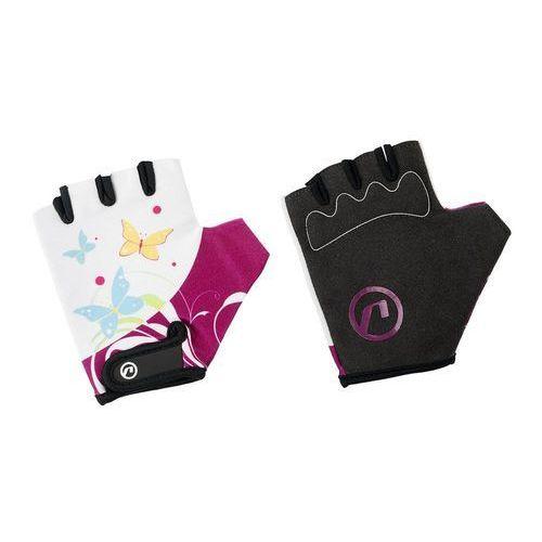 Rękawiczki dziecięce Accent Daisy biało-fioletowe XS (5902175633715)