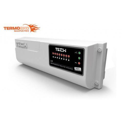L-5 przewodowy sterownik zaworów termostatycznych (8 sekcji) do ogrzewania podłogowego marki Tech