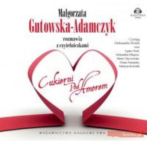 """AUDIOBOOK Małgorzata Gutowska-Adamczyk rozmawia z czytelniczkami """"Cukierni pod Amorem"""", oprawa kartonowa"""