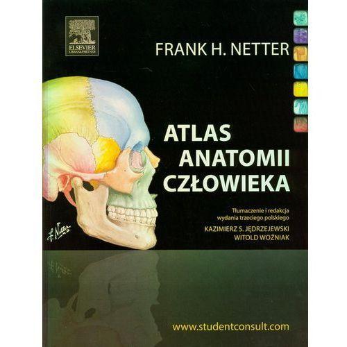 Atlas anatomii człowieka (532 str.)