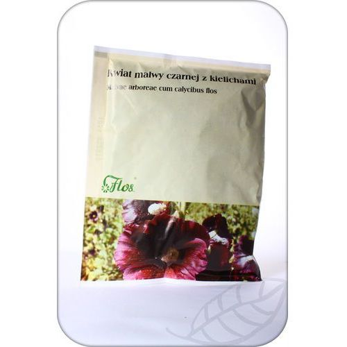 Flos : malwa czarna kwiat z kielichami (malvae arboreae) - 50 g