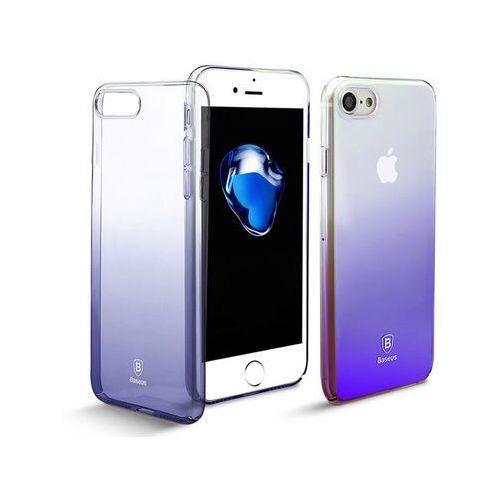 Etui Baseus Glaze Apple iPhone 7/8 ombre case Black, kolor czarny