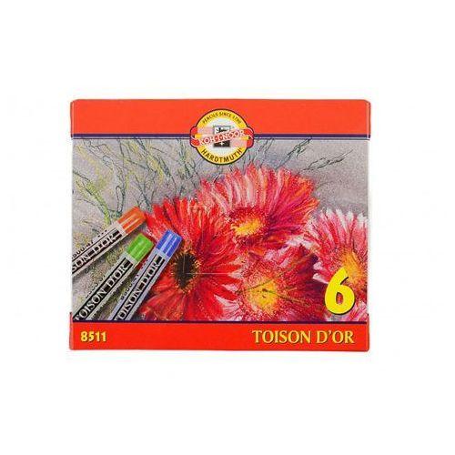 Kredki Pastele Toison D\'or 6 kolorów (8593539040972)