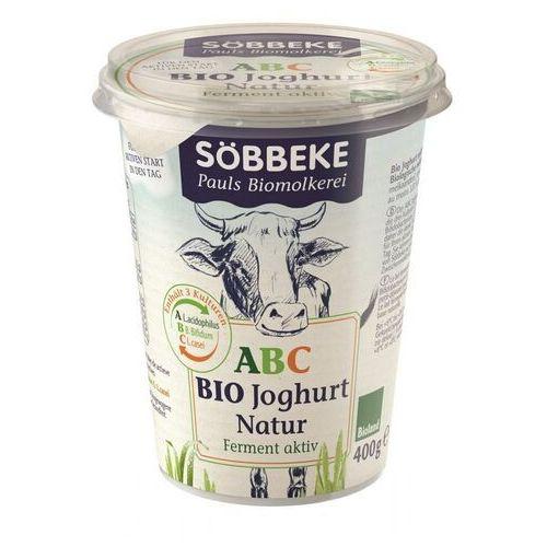 Sobbeke dystrybutor: bio planet s.a., wilkowa wieś 7, 05-084 leszno k. Jogurt probiotyczny abc (3,8% tłuszczu w mleku) bio 400 g - sobbeke (4008471492832)