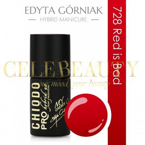 CHIODO PRO RED COLOR 728 RED IS BAD 7ML