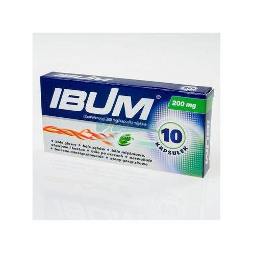 Ibum kapsułki elastyczne 0.2 g 10 sztuk - oferta [0553d54b534f52f0]