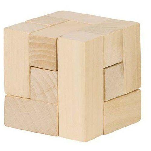Drewniana kostka układanka logiczna marki Goki