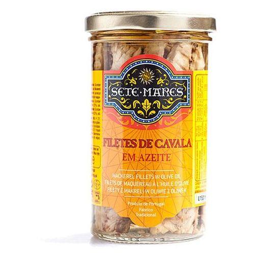 Filety z makreli w oliwie z oliwek 250g marki Sete mares