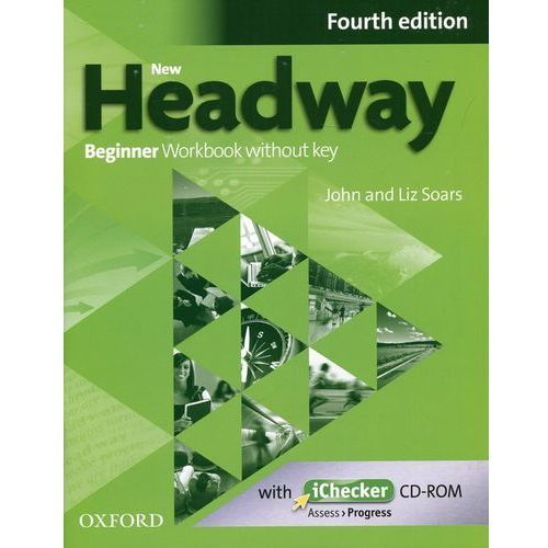 New Headway 4e Beginner Workbook Without Key & Ichecker CD-rom Pack (9780194771078)