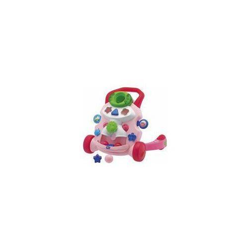 Chicco Grający pchacz  (różowy)