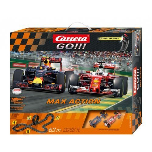 GO!!! Max Action - Carrera. DARMOWA DOSTAWA DO KIOSKU RUCHU OD 24,99ZŁ
