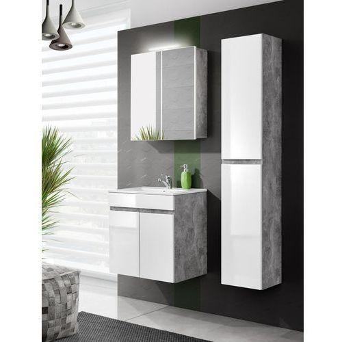Komplet mebli łazienkowych 60 cm 2d, kolekcja atelier marki Comad