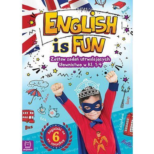 English is fun Zestaw zadań utrwalających słownictwo w klasach 1-4 (9788381062978)
