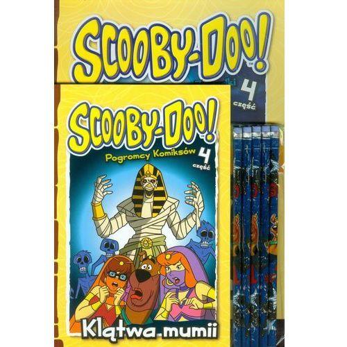 Scooby Doo Klątwa mumii + ołówki. Zestaw 2 książek + ołówki z gumką