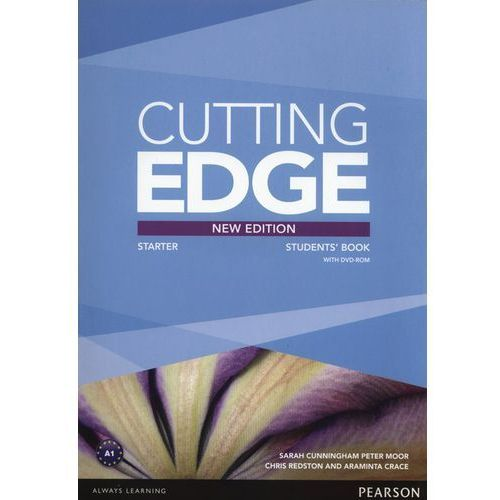 Cutting Edge 3rd Edition Starter. Podręcznik + DVD, oprawa miękka