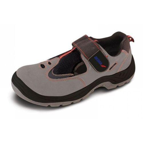 Sandały bezpieczne bh9d2-45 (rozmiar 45) + darmowy transport! marki Dedra