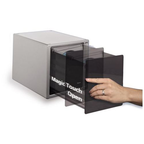 Stojak magic touch - 80 cd srebrny, marki Hama