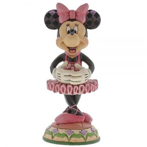 Jim shore Kolekcjonerski dziadek do orzechów myszka mini beautiful ballerina (minnie mouse figurine) 6000947 figurka ozdoba świąteczna