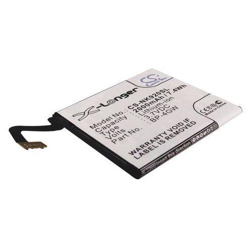 Nokia Lumia 920 / BP-4GW 2000mAh 7.40Wh Li-Polymer 3.7V (Cameron Sino)