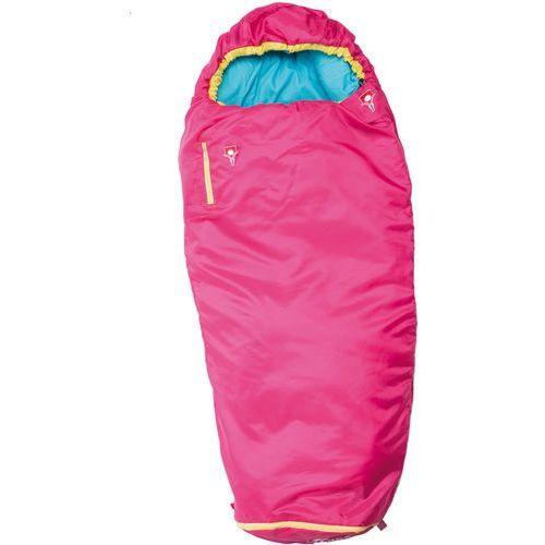 Grüezi-bag grow colorful śpiwór dzieci różowy 180 x 65 x 45 cm 2018 śpiwory syntetyczne (4260371340716)