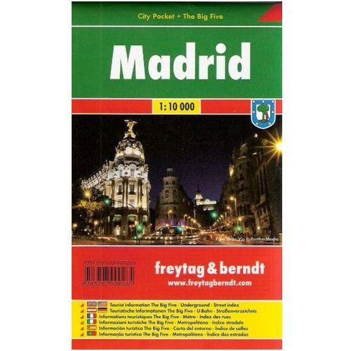 Madrid / city plan 1:10 000 freytag & berndt