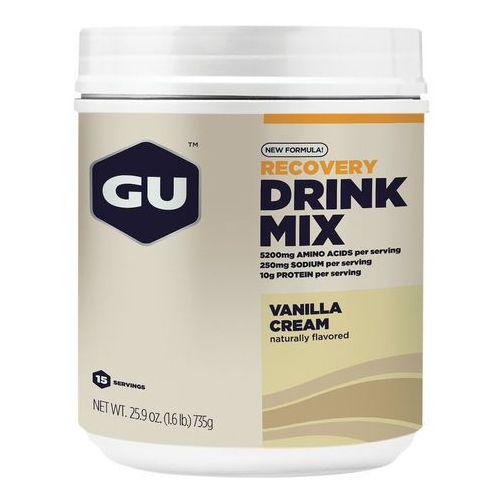Gu energy recovery drink mix żywność dla sportowców vanilla cream 750g 2018 suplementy (0769493100757)